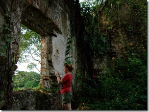 me exploring in mexico