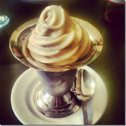 cinnamon soft serve