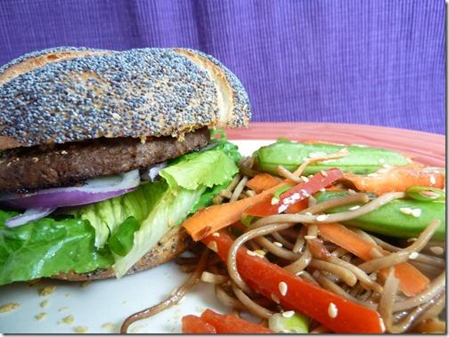 Dijon Dill Vegan Burger