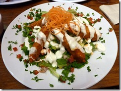 B Wing Salad