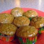 Irish Oatmeal Cupcakes with Warm Butterscotch Icing