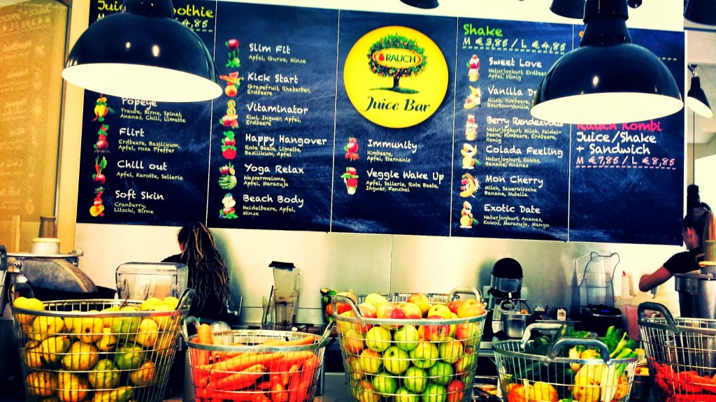 Fresh Juice in Vienna