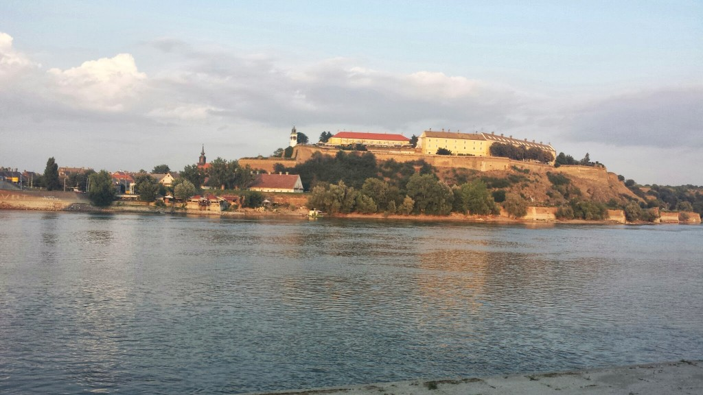 Petrovaradin Fortress on the Danube