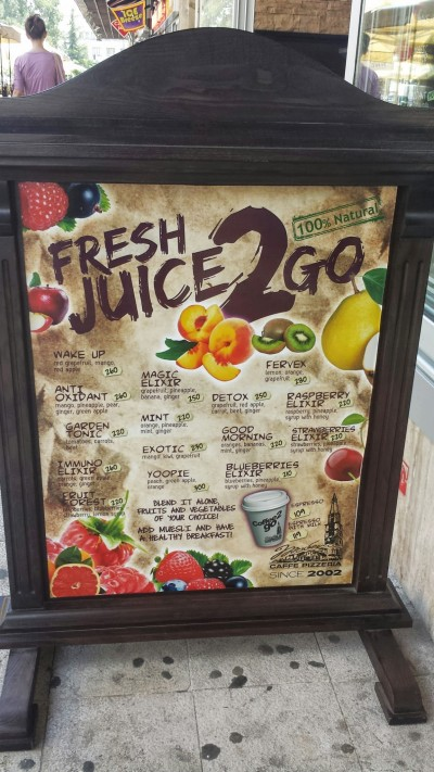 Fresh Juice 2 Go: breakfast of champions