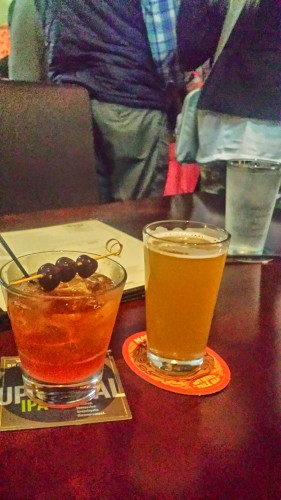 A Manhattan and a Beer